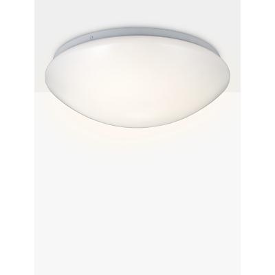 John Lewis Saint LED Flush Bathroom Light, Opal