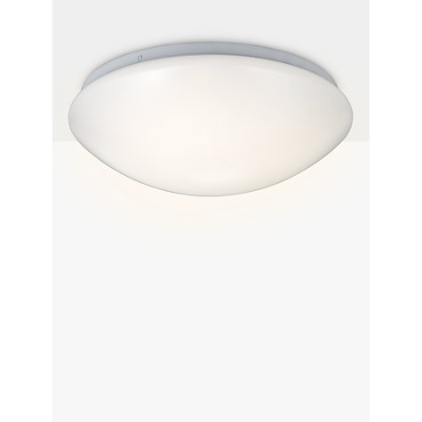Buy john lewis saint led flush bathroom light opal john lewis John lewis bathroom design and fitting