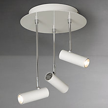 Buy John Lewis Totem LED 3 Plate Spotlight, White Online at johnlewis.com