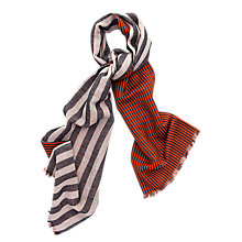 Buy Thomas Pink Reversible Stripe Scarf Online at johnlewis.com