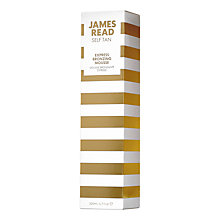 Buy James Read Express Bronzing Mousse, 200ml Online at johnlewis.com