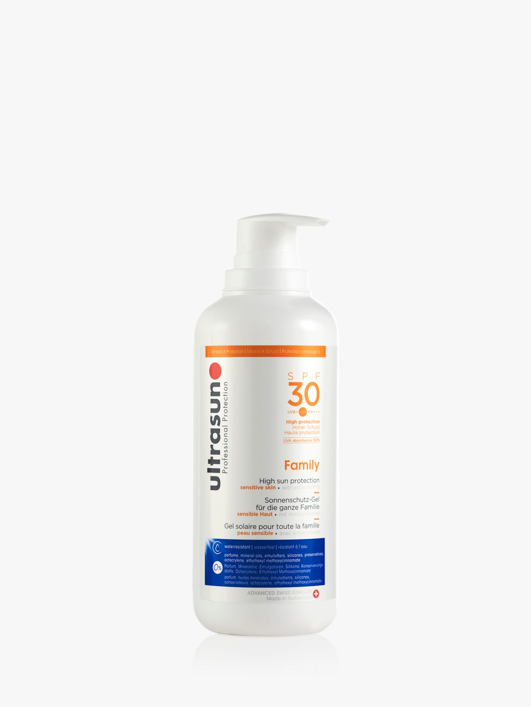 Ultrasun Ultrasun SPF30 Family Sun Cream, 400ml
