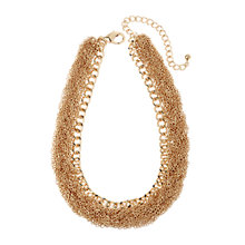 Buy Adele Marie Gold Plated Fine Chain Necklace, Gold Online at johnlewis.com
