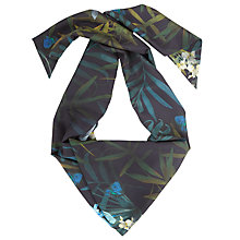 Buy Ted Baker Livea Twilight Skinny Scarf, Black Online at johnlewis.com