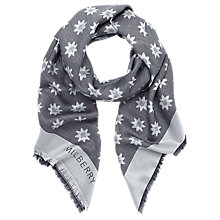 Buy Mulberry Monogram Star Print Silk Blend Scarf Online at johnlewis.com