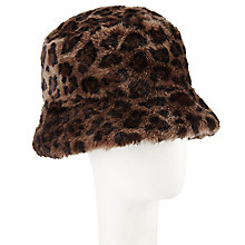 Buy John Lewis Faux Fur Reversible Hat Online at johnlewis.com