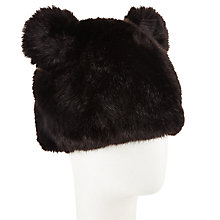 Buy John Lewis Faux Fur Bear Head Hat Online at johnlewis.com