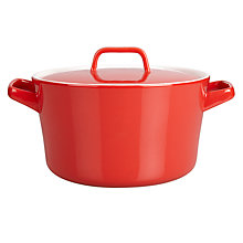 Buy House by John Lewis Stoneware Casserole, 3L Online at johnlewis.com