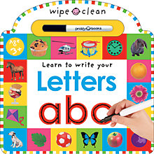 Buy Learn To Write Your Letters Wipe Clean Book Online at johnlewis.com