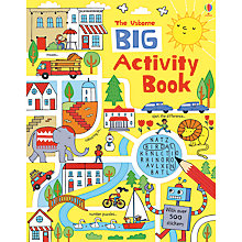 Buy The Usborne Big Activity Book Online at johnlewis.com
