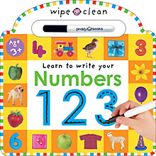 Buy Learn To Write Your Numbers Wipe Clean Book Online at johnlewis.com