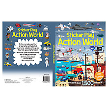 Buy Sticker Play Action World Book Online at johnlewis.com