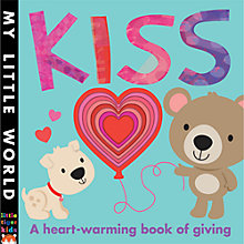 Buy My Little World: Kiss Children's Book Online at johnlewis.com