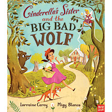 Buy Cinderella's Sister & The Big Wood Wolf Book Online at johnlewis.com