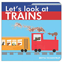 Buy Let's Look At Trains Book Online at johnlewis.com