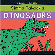 Buy Dinosaurs Giant Fold-Out Book Online at johnlewis.com