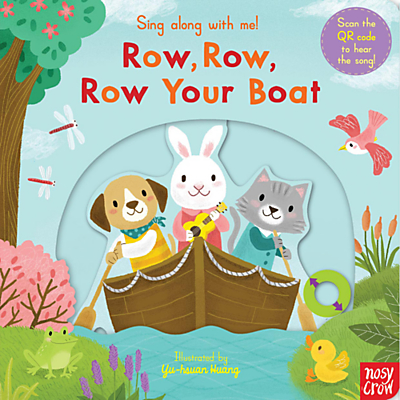 Row, Row, Row Your Boat Sing Along Book