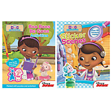 Buy Doc McStuffins Stickers Activity Pack Online at johnlewis.com
