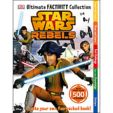 Buy Staw Wars Rebels: Ultimate Factivity Collection Book Online at johnlewis.com