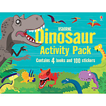 Buy Usborne Dinosaur Activity Pack Online at johnlewis.com