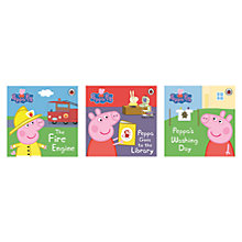 Buy Peppa Pig Books, Pack of 3 Online at johnlewis.com