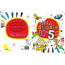 Buy Draw Doodle Do For 5 Year-Olds Online at johnlewis.com