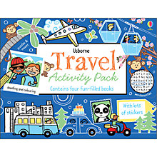 Buy Usborne Travel Activity Pack Online at johnlewis.com