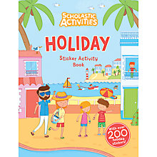 Buy Holiday Sticker Activity Book Online at johnlewis.com