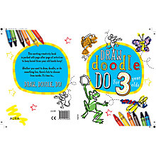 Buy Draw Doodle Do For 3 Year-Olds Online at johnlewis.com