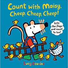 Buy Count With Maisy, Cheep, Cheep, Cheep! Book Online at johnlewis.com
