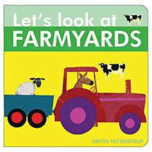 Buy Let's Look At Farmyards Book Online at johnlewis.com