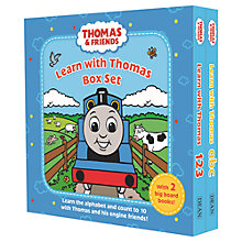 Buy Thomas & Friends Learn With Thomas Box Set Online at johnlewis.com