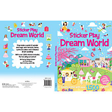 Buy Sticker Play Dream World Book Online at johnlewis.com