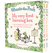 Buy Winnie The Pooh My Very First Learning Box Set Online at johnlewis.com