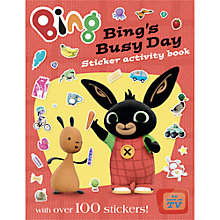 Buy Bing Bunny Activity Books, Pack of 2 Online at johnlewis.com