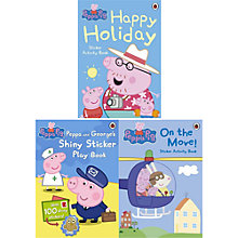 Buy Peppa Pig Activity Books, Pack of 3 Online at johnlewis.com