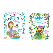 Buy Disney Princess Sofia Books, Pack of 2 Online at johnlewis.com
