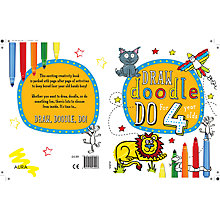 Buy Draw Doodle Do For 4 Year-Olds Online at johnlewis.com
