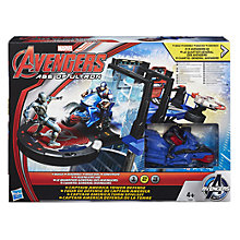 Buy Avengers Age of Ultron Captain America Tower Defence Action Set Online at johnlewis.com