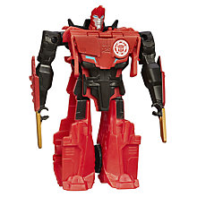 Buy Transformers Sideswipe One Step Changer Action Figure Online at johnlewis.com