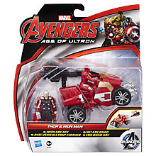 Buy Avengers Age of Ultron Thor & Iron Man Action Figures Online at johnlewis.com