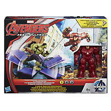 Buy Avengers Age of Ultron Hulk Buster Breakout Action Set Online at johnlewis.com