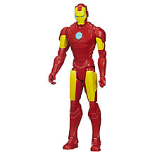 "Buy Avengers Age of Ultron Marvel's Iron Man 12"" Action Figure Online at johnlewis.com"