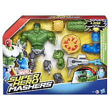 Buy Marvel Super Hero Mashers Hulk Action Figure Online at johnlewis.com