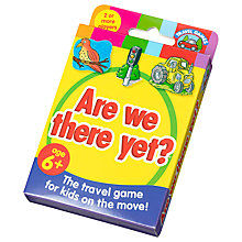 Buy Paul Lamond Are We There Yet? Travel Game Online at johnlewis.com