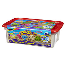 Buy Cra-Z-Art Kinetic Sand Tub Fulla Sand Fun Set, Assorted Online at johnlewis.com