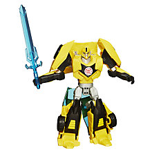 Buy Transformers Warrior Class Bumblebee Action Figure Online at johnlewis.com