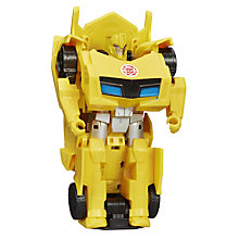 Buy Transformers Bumblebee One Step Changer Action Figure Online at johnlewis.com