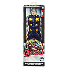Buy Marvels Avengers Age of Ultron Titan Hero Series Thor Action Figure Online at johnlewis.com