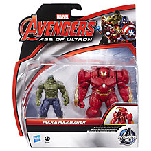 Buy Avengers Age of Ultron Hulk & Buster Action Figures Online at johnlewis.com